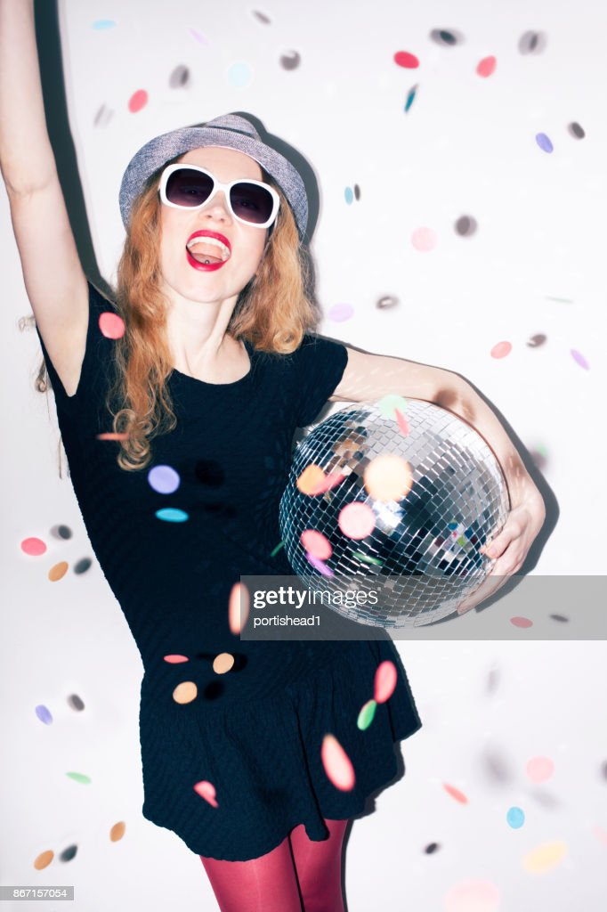 Party girl : Stock Photo