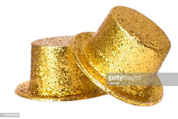 party hat - yellow hat stock pictures, royalty-free photos & images