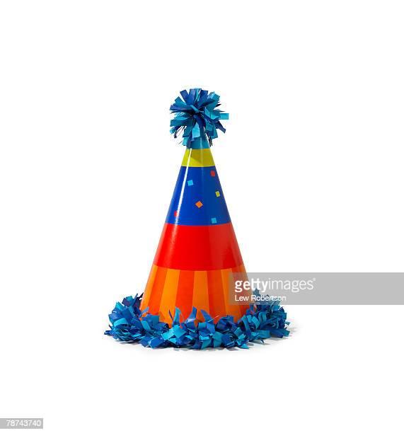 party hat - gorro de fiesta fotografías e imágenes de stock