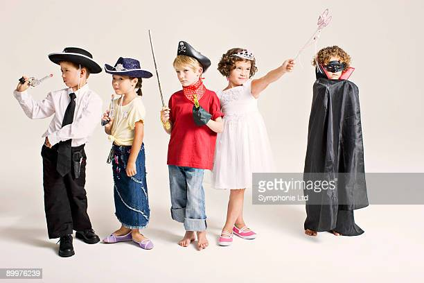party kids in costume