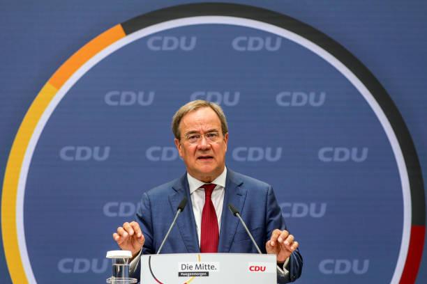 DEU: Armin Laschet Press Conference