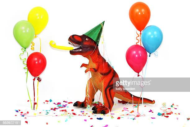 Party like a dinosaur happy birthday