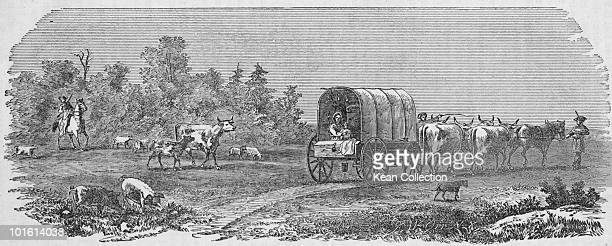 A party of ten American emigrants travelling from Connecticut to eastern Ohio during the westward expansion of the United States 1805 The group made...