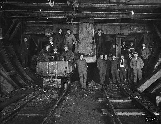 NY: 12th October 1920 - Holland Tunnel Construction Begins