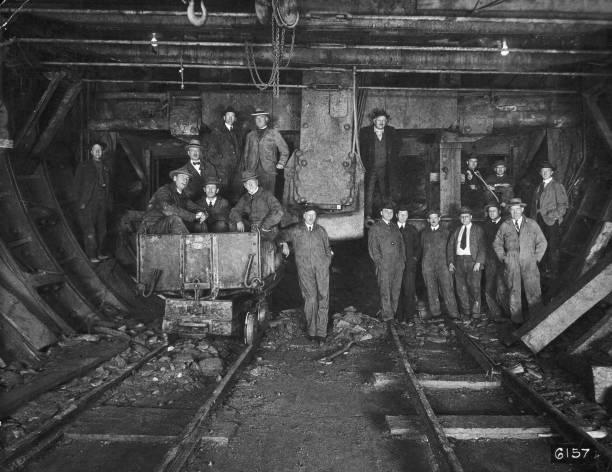 NY: 12th October 1920 - Holland Tunnel Construction Begins