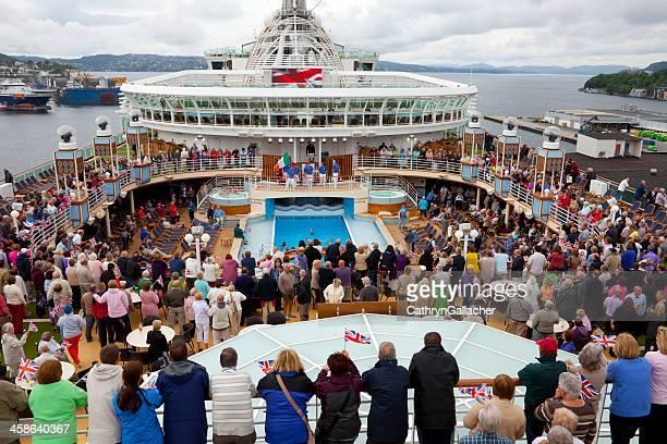 Party on Board the P&O Cruise Ship Azura
