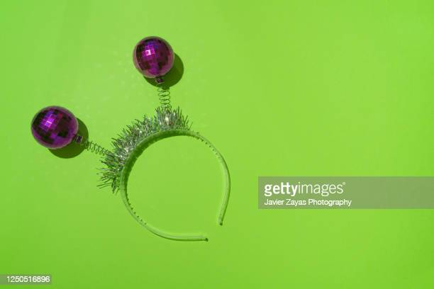 party ornament - headband stock pictures, royalty-free photos & images