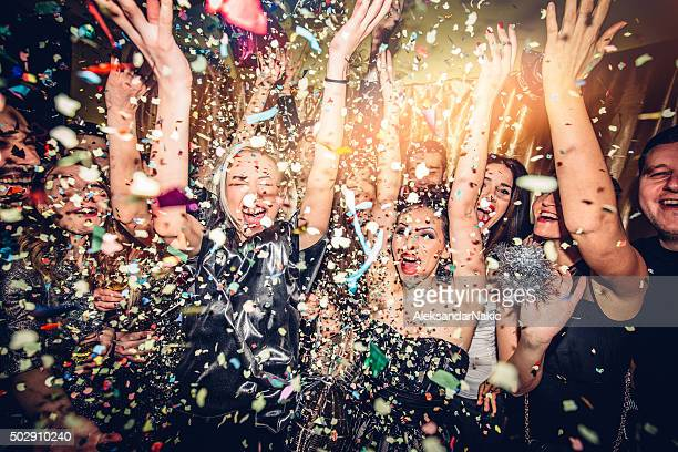 party! - new year's eve stock pictures, royalty-free photos & images