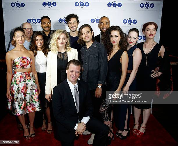 DIEGO 'UCP Party' Pictured Stella Maeve 'The Magicians' Jeff Wachtel President and Chief Content Officer Cable Entertainment Cable Studios Summer...