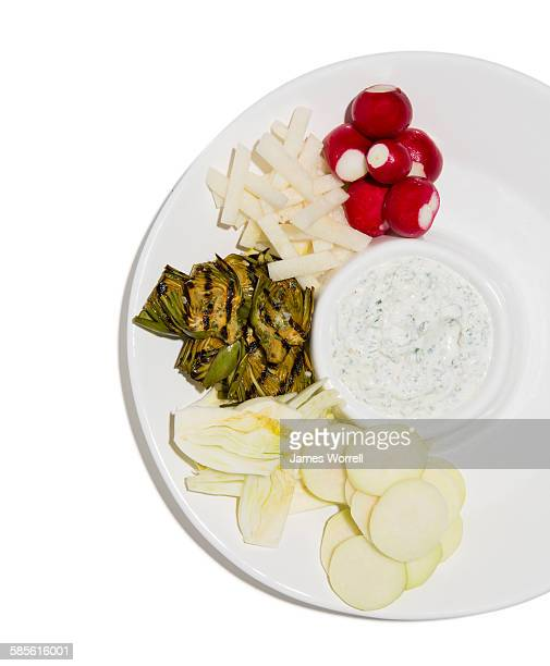 Party Platter with Veggies and Dip
