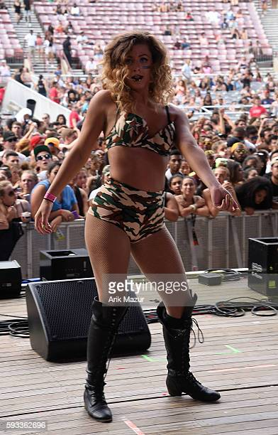Party Thieves performs onstage during the 2016 Billboard Hot 100 Festival at Nikon at Jones Beach Theater on August 21 2016 in Wantagh New York