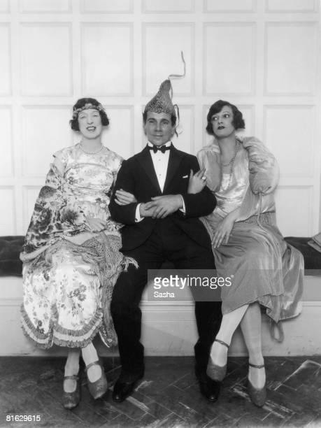 Partygoers at the London Palladium May 1925