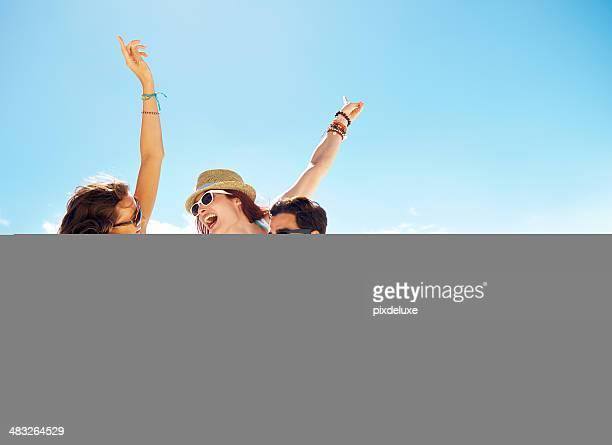 Party in der Sonne