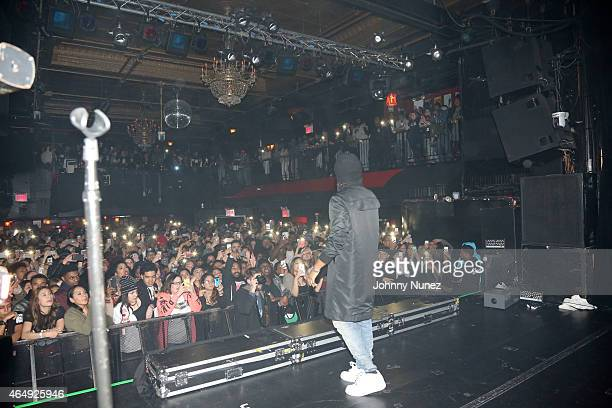 PartyNextDoor performs at Irving Plaza on March 1 2015 in New York City