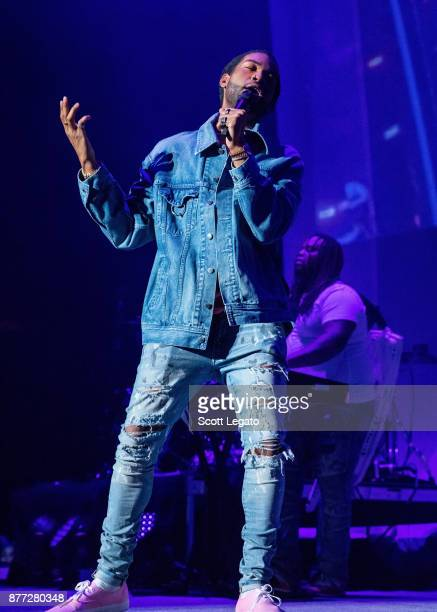 PartyNextDoor performs in support of the Hopeless Fountain Kingdom Tour at Little Caesars Arena on November 21 2017 in Detroit Michigan