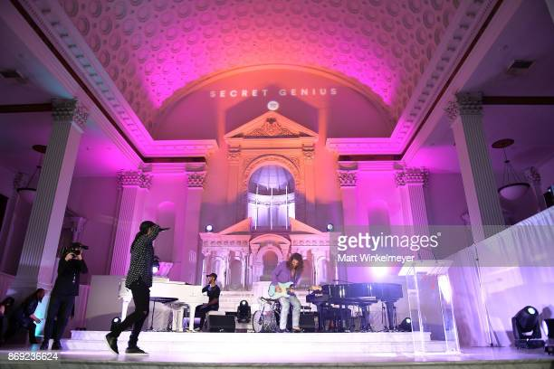 PartyNextDoor performs onstage during Spotify's Inaugural Secret Genius Awards hosted by Lizzo at Vibiana on November 1 2017 in Los Angeles California