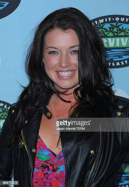 Parvati Shallow arrives at the CBS Survivor 10 Year Anniversary Party on January 9 2010 in Los Angeles California
