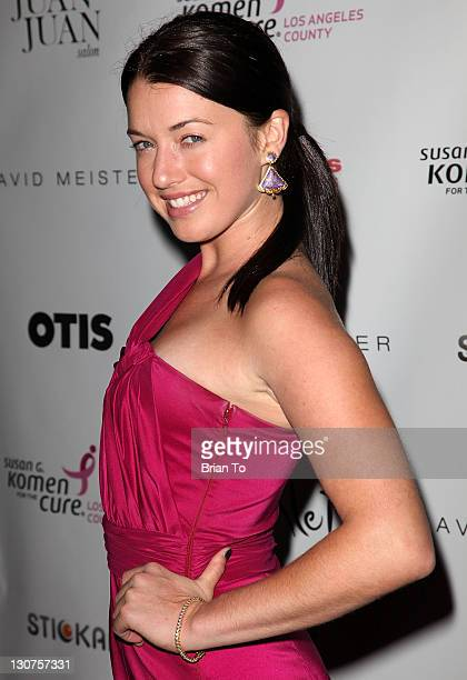 Parvati Shallow attends the Designs for the Cure gala at BelAir Bay Club on October 28 2011 in Pacific Palisades California