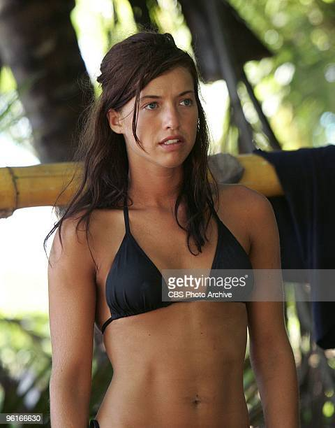 Parvati Shallow during her time on SURVIVOR COOK ISLANDS Thursdays on the CBS Television Network Villain Parvati Shallow a boxer previously seen on...