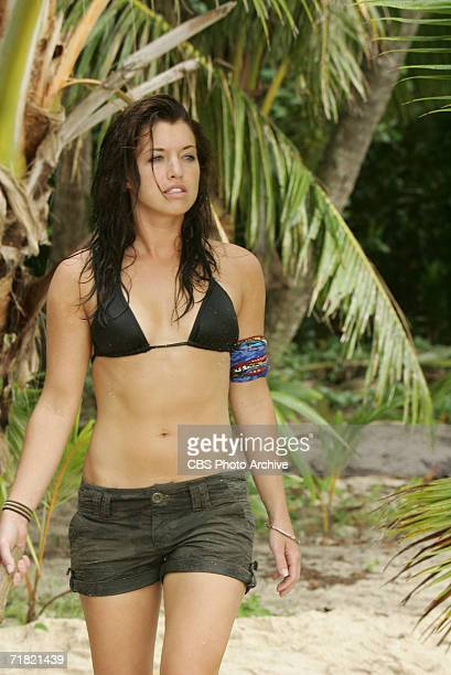 Parvati Shallow during the first episode of SURVIVOR COOK ISLANDS Thursdays on the CBS Television Network
