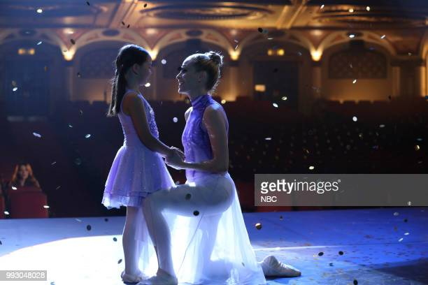 REVERIE 'Pas De Deux' Episode 106 Pictured Ireland Richards as Sadie Sally Pressman as Holly Maxwell