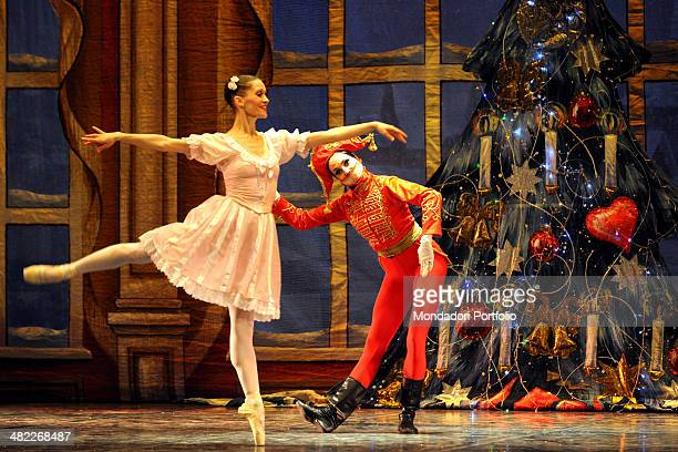Pas de deux from wellknown Tchaikovsky's ballet The Nutcracker performed by the Muscovite dance company La Classique with choreography by Valery...
