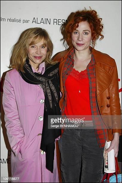 Pas Sur La Bouche Premiere On November 24 2003 In Paris France Elizabeth And Julie Depardieu