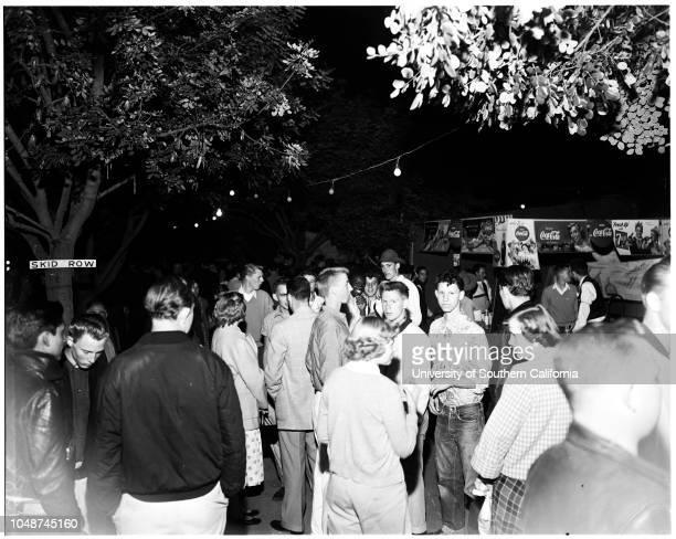 Pasadena City College carnival 15 May 1952 Karen HjallandPat MurphyBruce BurdickJanice JackForrest PhillipsJim RosoffBurt HowellsTrenna KemperMarian...