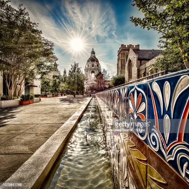 Pasadena City Hall with Fountain