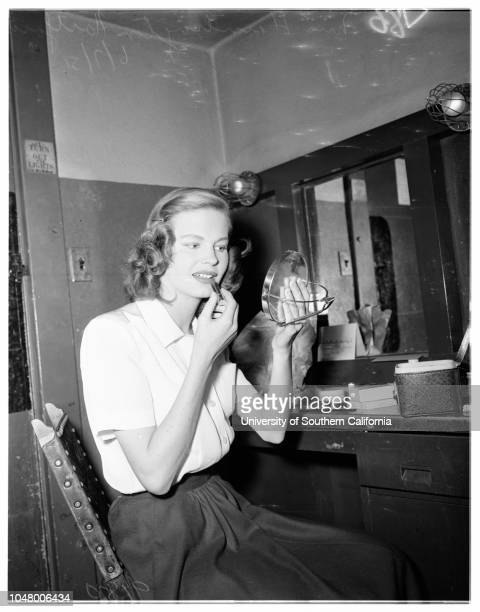 Pasadena Playhouse June 7 1951 Onslow StevensMiss Billie BurkeRoy GordonMarjorie SteeleJoe AkinGeorge NadarMiss Dorothy ArnzerMore descriptive...