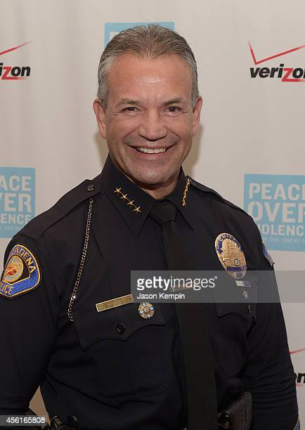 Pasadena Police Chief Phillip Sanchez attends the Peace Over Violence 43rd annual Humanitarian Awards at The Langham Huntington Pasadena on September...