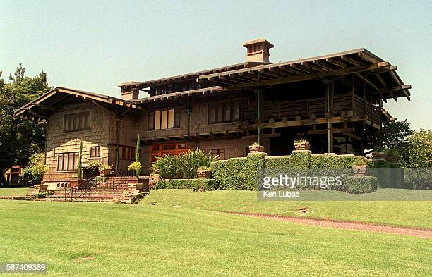 Pasadena's Gamble House, built in 1908 and known for its attention to detail.
