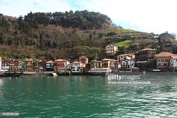 Pasai Donibane fishing village in Basque Country