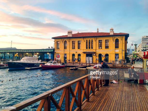 pasaport in alsancak, izmir - izmir stock pictures, royalty-free photos & images