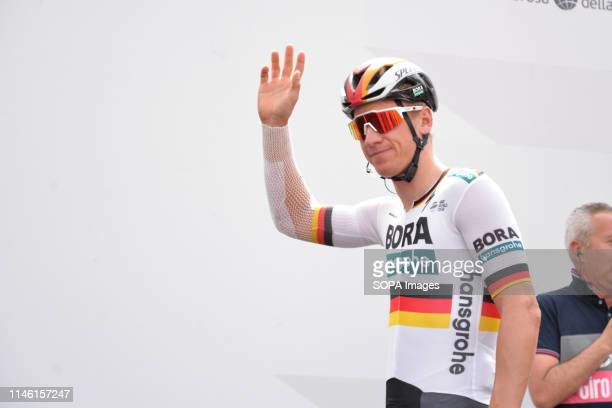 Pascal Ackermann of Germany and Team Bora seen during the 102nd edition of the Giro d'Italia 2019, Stage 13 a 196km stage from Pinerolo to Ceresole...