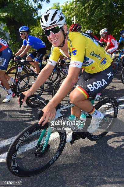 Pascal Ackermann of Germany and Team Bora-Hansgrohe Yellow Leader Jersey / during the 75th Tour of Poland 2018, Stage 3 a 139km stage from Stadion...