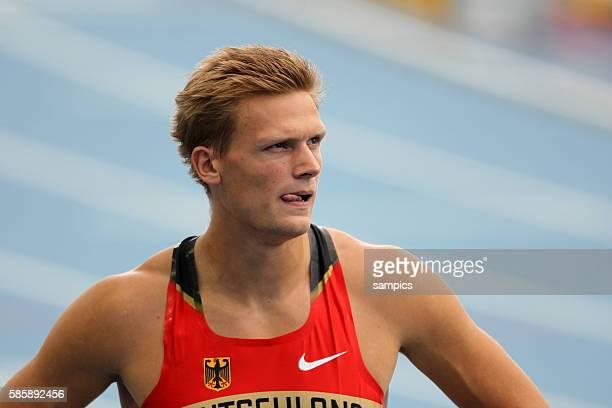 Pascal Behrenbruch GER Zehnkampf Decathlon IAAF Leichtathletik WM Weltmeisterschaft in Daegu Sudkores 2011 IAAF world Championship athletics in Daegu...