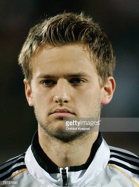 Pascal Bieler of Germany looks on before the Under 21 international friendly between Germany and Czech Republic at the PaulJanes stadium on March 27...