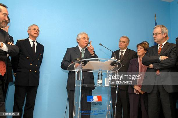 Pascal Clement Minister of Justice announced the construction of a new prison in Nantes France On January 26 2006Pascal Clement Minister of Justice...