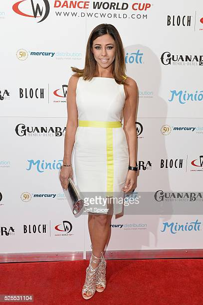 Pascal Craymer arrives at the launch of the 2016 annual BLOCH Dance World Cup on April 28 2016 in London England