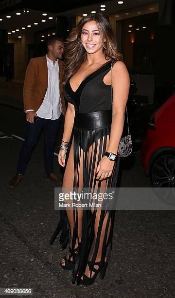 Pascal Craymer attending James Ingham's Jog on to Cancer Research UK event at Kensington Roof Gardens on April 9 2015 in London England