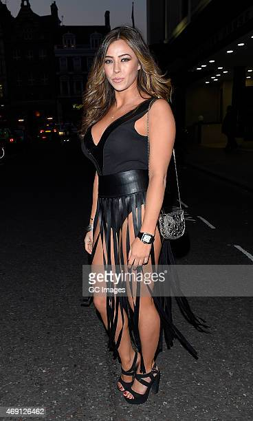 Pascal Craymer attends James Ingham's Jog on to Cancer Research UK event at Kensington Roof Gardens on April 9 2015 in London England