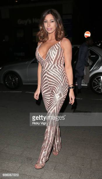 Pascal Craymer seen attending OK Magazine's 25th anniversary party at The View from the Shard on March 21 2018 in London England