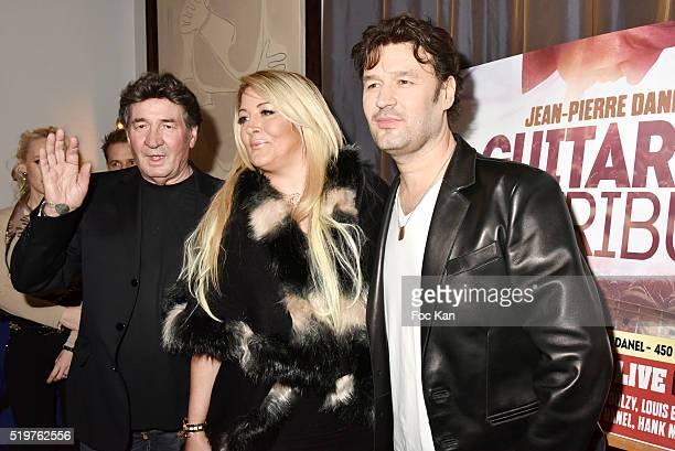 Pascal Danel Loana Petrucciani and Golden disc awarded Jean Pierre Danel attend 'Guitar Tribute' by Golden disc awarded Jean Pierre Danel at Hotel...