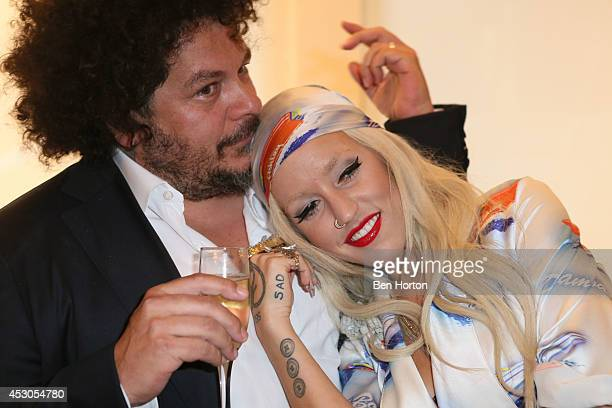 Pascal Dangin and Brooke Candy attend Nicole Richie Eric Buterbaugh and Nevena Borissova host Ryan Korban's 'Luxury Redefined' on August 1 2014 in...