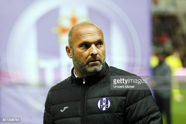 Pascal Dupraz headcoach of Toulouse during the Ligue 1 match between Fc Nantes and Toulouse Fc at Stade de la Beaujoire on November 5 2016 in Nantes...