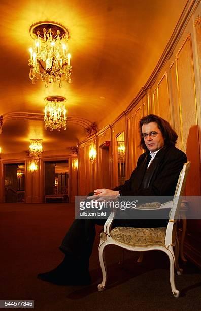 Pascal Dusapin Komponist Frankreich in der Staatsoper Unter den Linden in Berlin