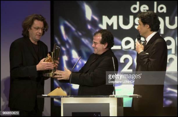 Pascal Dusapin Richard Galliano and Patrick de Carolis