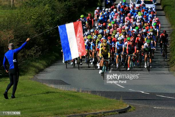 Pascal Eenkhoorn of The Netherlands and Team Jumbo _ Visma Cycling / Koen Bouwman of The Netherlands and Team Jumbo _ Visma Cycling / Jos van Emden...