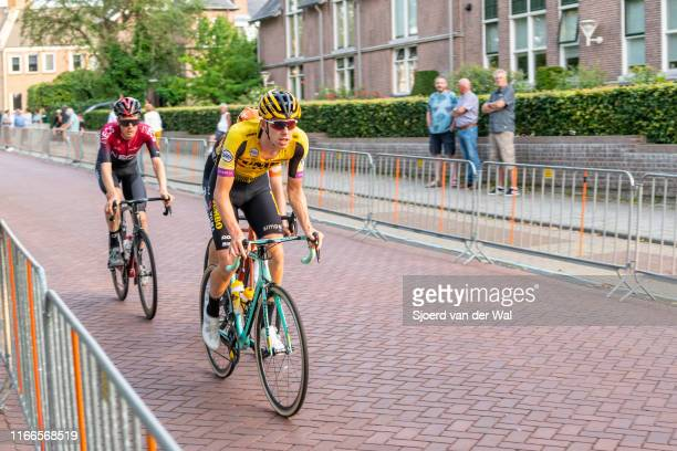 Pascal Eenkhoorn of The Netherlands and Team Jumbo-Visma during the 2019 Spektakel van Steenwijk on August 6, 2019 in Steenwijk, Netherlands.